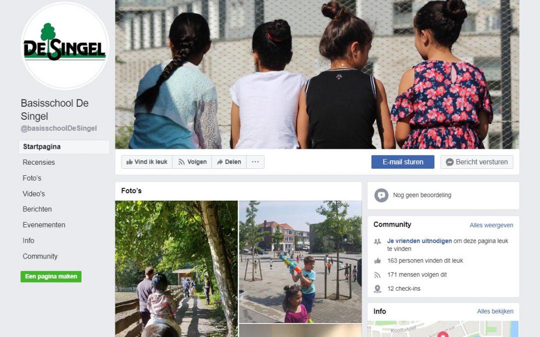 Volg de Singel ook op Facebook